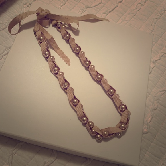 Stella & Dot Jewelry - Stella & Dot Timeless tie pearl necklace